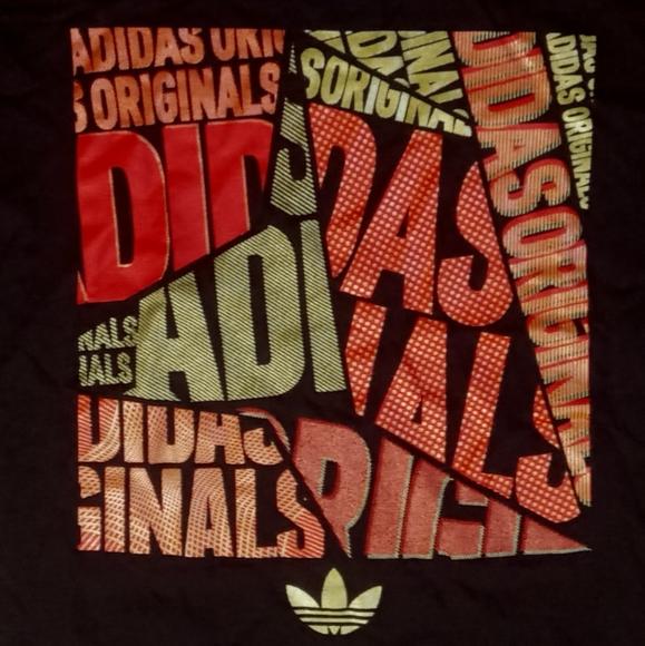 new Adidas Bold Original Tri-Leaf Logo t shirt